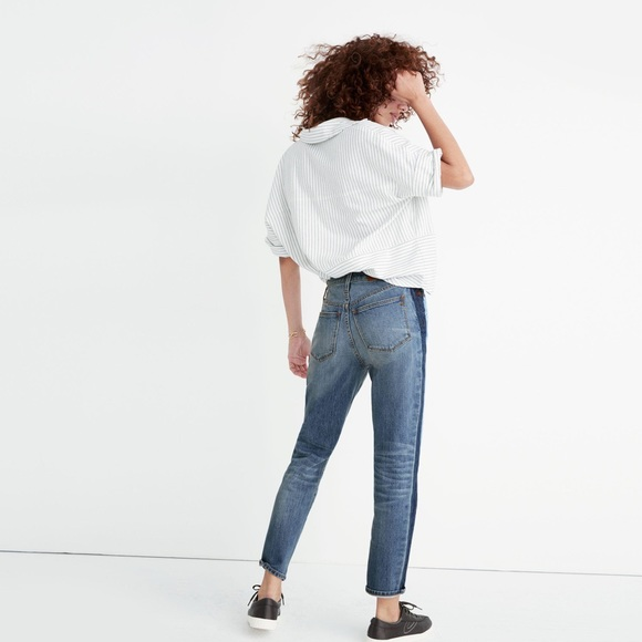 Madewell Denim - Madewell High-Rise Slim Boyjean